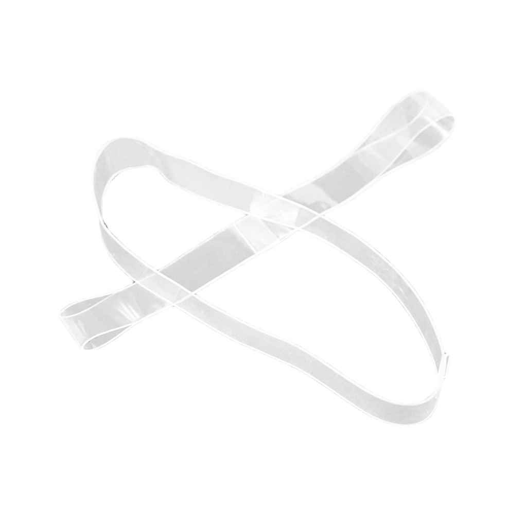 Omkuwl 1 Pairs Clear Invisible Shoe Straps For Holding Loose Shoes Dancing High Heels Mules