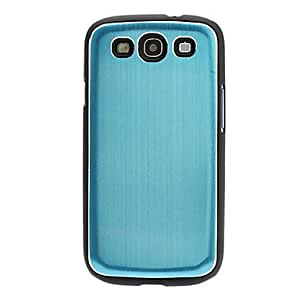 GJY Luxury Ultrathin Aluminum Brushed Matel Hard Back Cover Case for Samsung Galaxy S3 i9300(Assorted Colors) , Silver