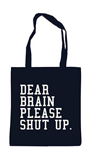 Dear Brain Please.. Bolsa Negro