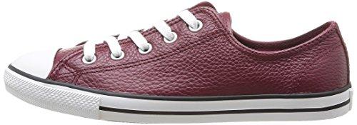 Converse mixte Dainty Baskets adulte Leath Rouge mode Ox rwaqP4xTUr