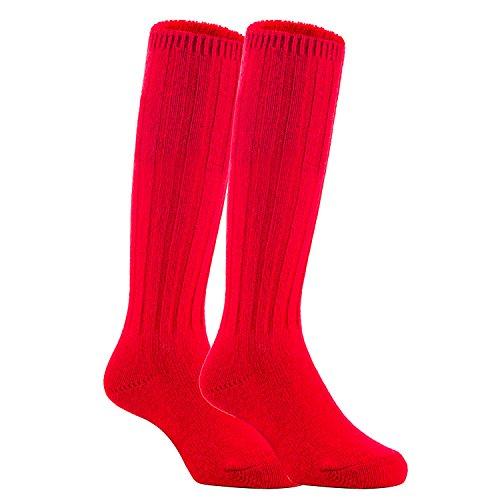 Meso Unisex Children 2 Pairs Knee High Wool Boot Socks MFS02 Size -