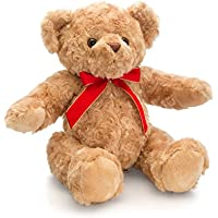 Hamleys Flora Teddy Bear With Ribbon
