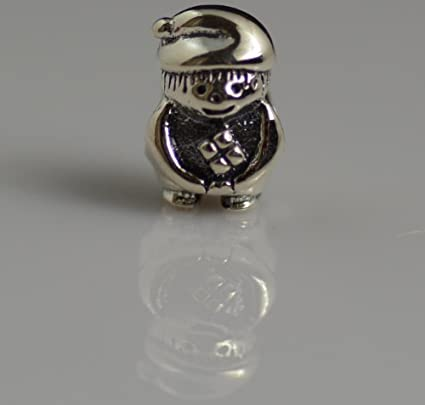 3ae8a2df5 Authentic Pandora Charm 100% Sterling silver Gnome: Amazon.co.uk: Kitchen &  Home