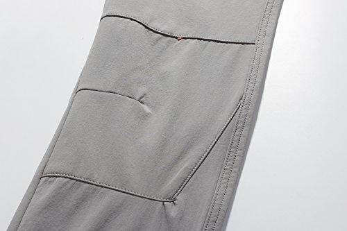Camii Mia Womens Windproof Waterproof Sportswear Outdoor Hiking Fleece Pants