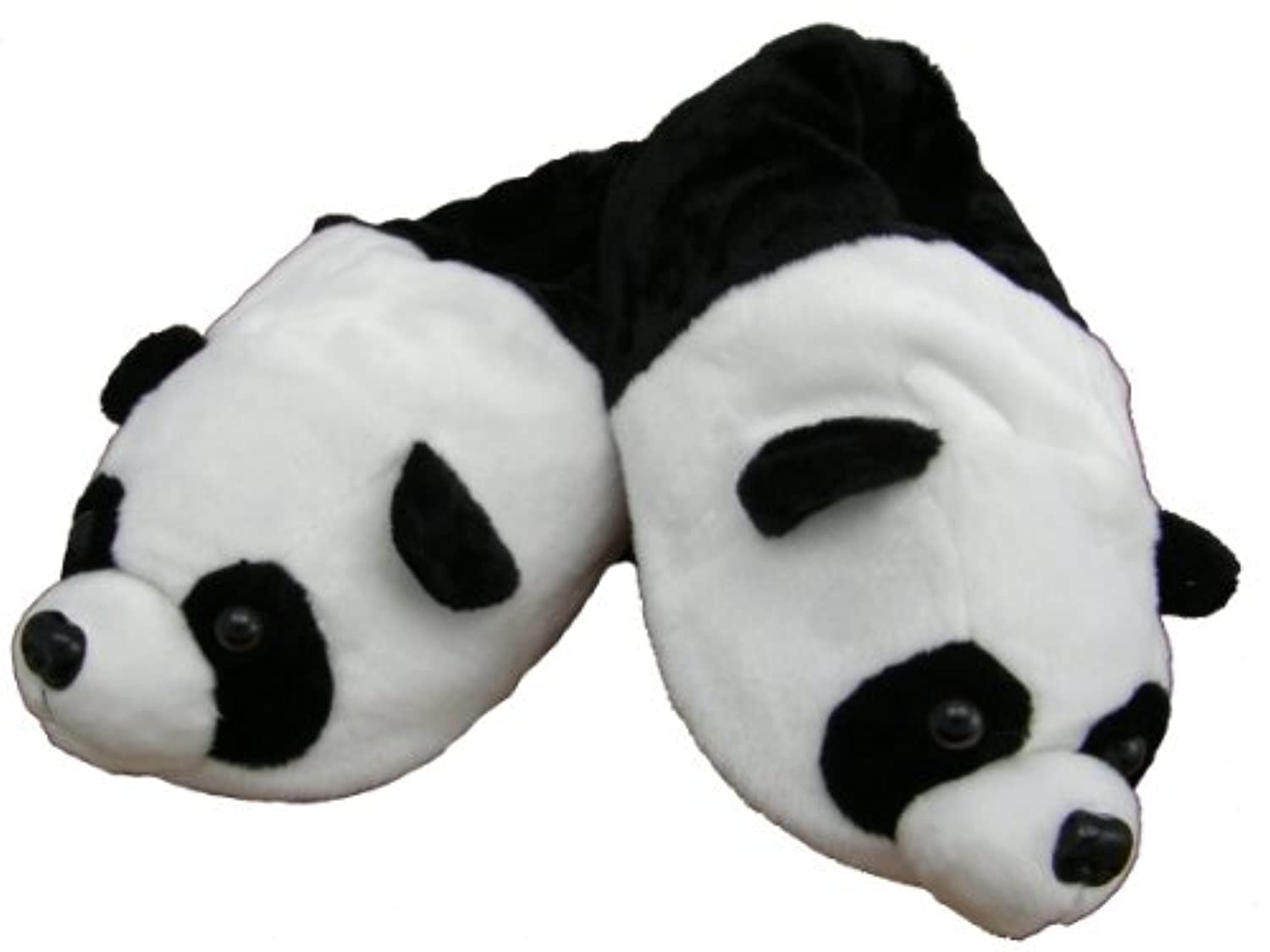 "Plush Slippers ""panda"" Size 5 - 7"