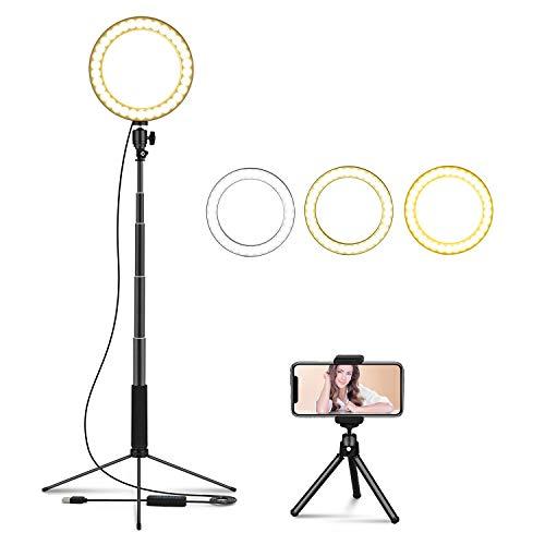LEDGLE Upgraded Selfie Ring Light product image