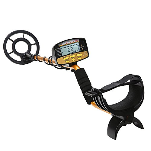 Nalanda Professional 18khz Metal Detector Treasure Hunter High Accuracy Golden Finder 5 Detection Modes Find Gold, Copper, Lead, Silver,Nickel, Iron, Jewelry etc