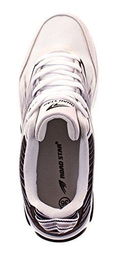 noir Et À Blanc Lacets Femme Roadstar Classique Coupe Chaussures qP8zwtaO