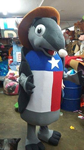 Handmade Texan Armadillo Mascot Costume Adult Costume / Delivery Time 3 to 4 Weeks (Armadillo Costume)