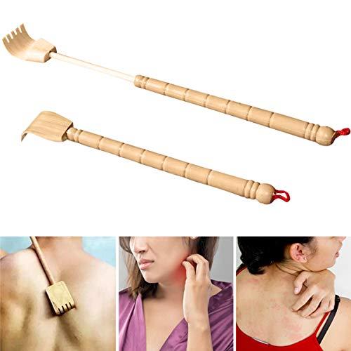 Xiaoxiao Grattoir /à Dos Extensible en Bambou et Bambou