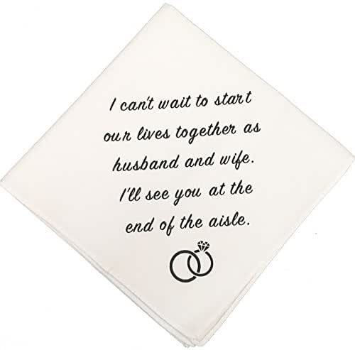 Wedding Gift For Husband On Wedding Day: Amazon.com: Groom Wedding Handkerchief By Wedding Tokens
