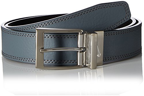 Nike Men's Reversible Harness Belt, black/Grey, 38