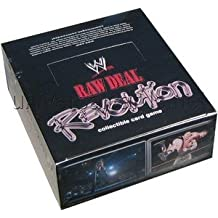 Raw Deal Card Game - WWE Revolution Booster Box - 24p11c