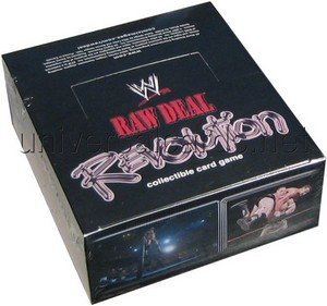 Raw Deal Card Game - WWE Revolution Booster Box - (Revolution Booster Box)