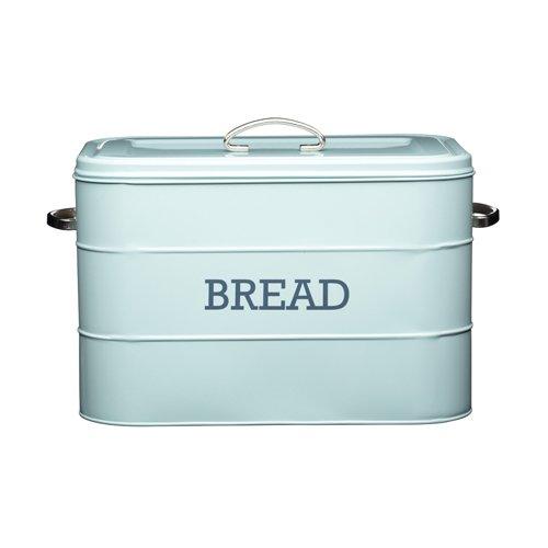 18 opinioni per Kitchen Craft Living Nostalgia- Contenitore porta pane in acciaio, colore: blu