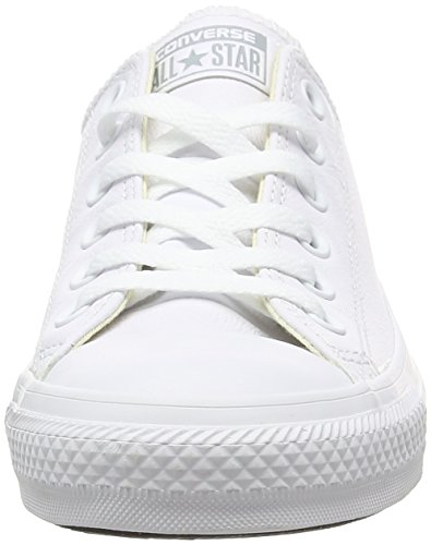 Converse As Leather Ox, Botines para Mujer blanco