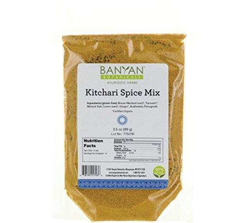 Banyan Botanicals Kitchari Spice Mix - 97% Organic - Ayurvedic Spices to Stimulate Digestion - Made in USA
