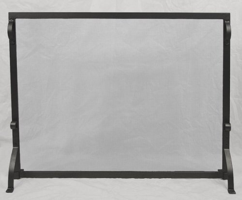 MISSION Flat Panel Fireplace Hearth Spark Screen [39