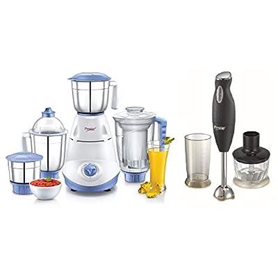 Prestige-Iris750-Watt-Mixer-Grinder-Prestige-PHB-60-200-Watt-2-Speed-Hand-Blender-with-Blending-Jar-Chopping-Whisking-Attachment