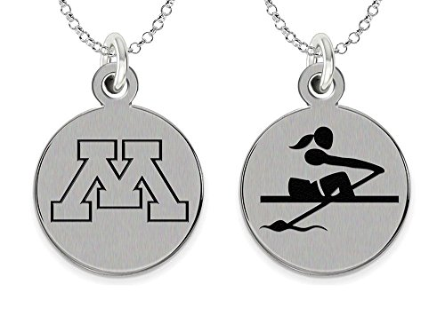 College Jewelry University of Minnesota Golden Gophers Rowing Charm ()