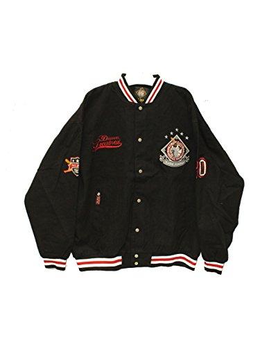 Negro League Baseball Jackets - Big Boy Gear Negro League Baseball Museum Heavyweight Snap Jacket