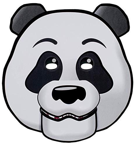 Blue Sky Studios Panda Mask Paper Panda Moving Mouth Mask - Panda Mask Halloween Party Costume Decorations ()