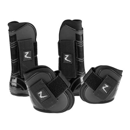 Horze ProTec Horse Boot Set - Size:Full Color - Horse Boots Dressage