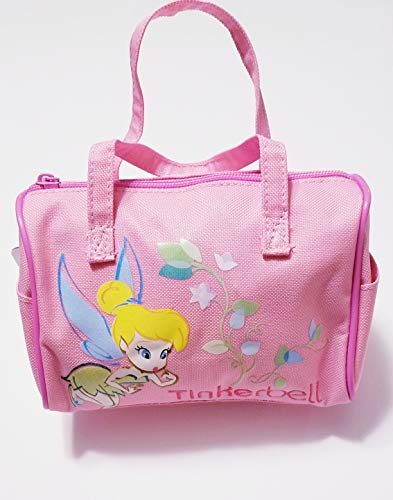 Bristol Treehouse Tinkerbell Purse ~ Soft Pink ~ Zipper top & 2 End Pockets ~ Free Bonus: Hair Tie]()