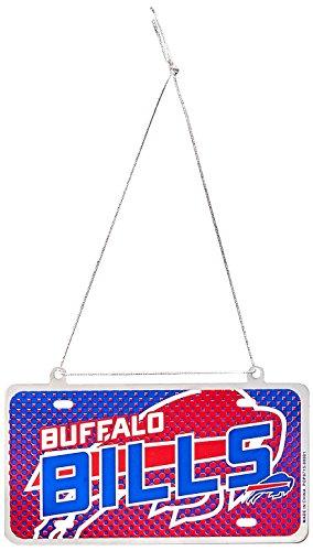 Team Beans Buffalo - FOCO Buffalo Bills 2015 Metal License Plate Ornament