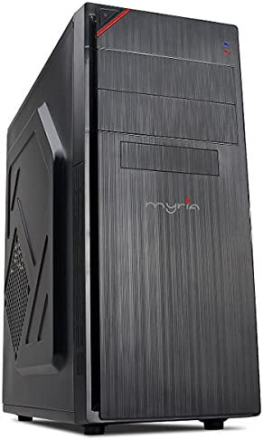 Myria Live V50 - Ordenador de sobremesa (PC, IT, Desktop, Intel Core i5-7400 3.5GHz, 4GB, 1TB, Intel HD Graphics 630, Linux) Color Negro