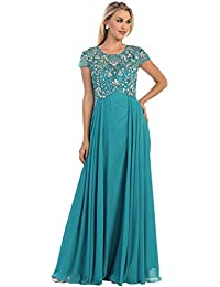 MQ1100 Formal Mother of The Bride Evening Dress