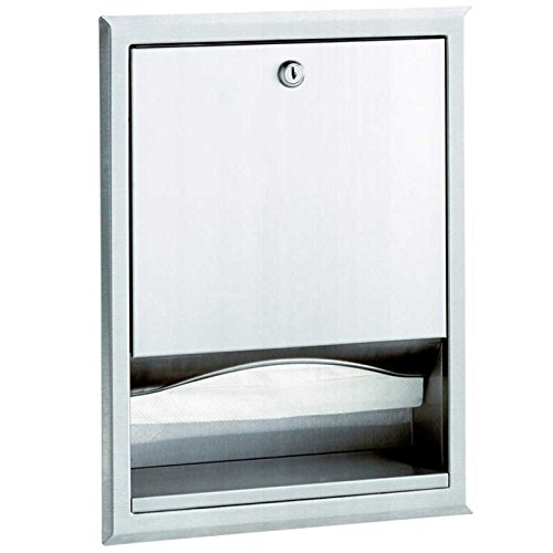 (Bobrick (B-359) - Stainless Steel Recessed Paper Towel Dispenser)