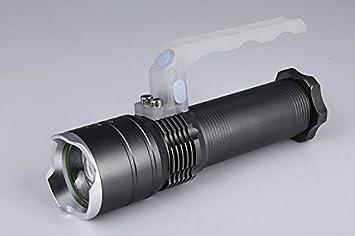 Newsuner outdoor tragbare taschenlampe teleskop zoom q led
