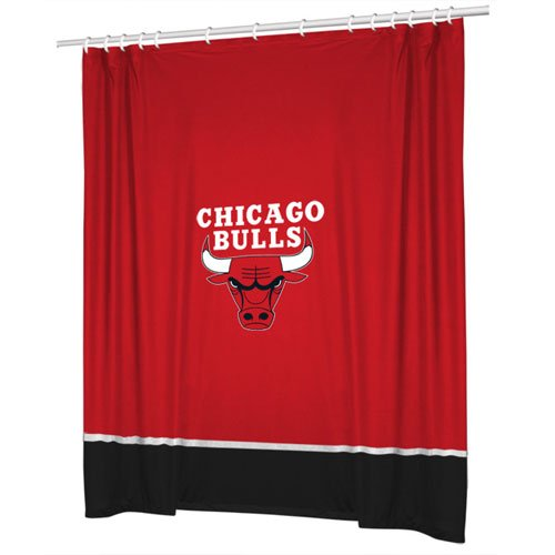NBA Shower Curtain NBA Team: Chicago Bulls