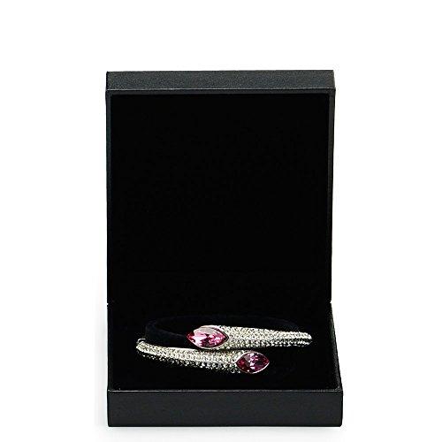 (Oirlv Black Velvet Bracelet Gift Box,Jewelry Bracelet Bearer )