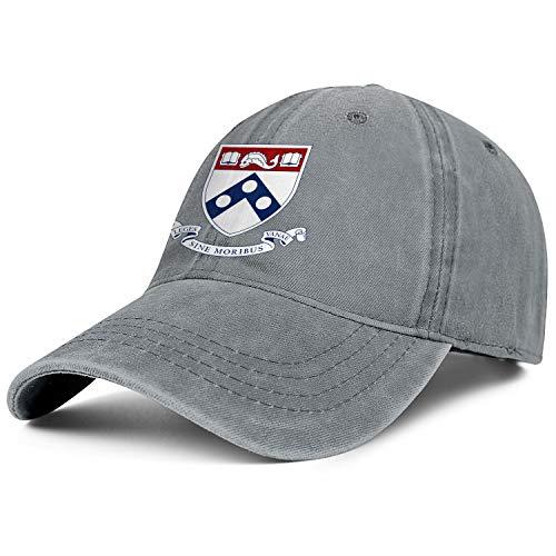 (Unisex University-of-Pennsylvania- Baseball Cap Men Women - Classic Adjustable Cowboy Hat)