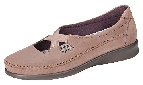 Sas Womens Crissy Slip On Flats Praline