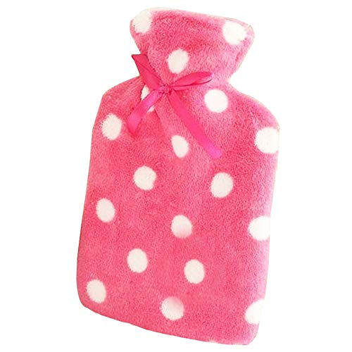 osion-Proof Warm Hands Hot Water Bottle with Cover 500ML (Red) ()