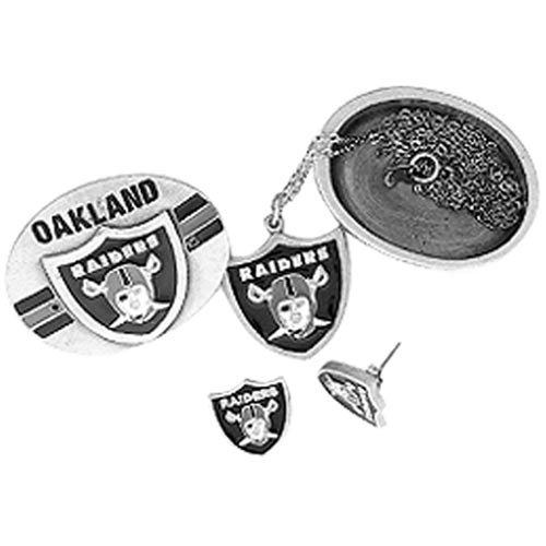 NFL Oakland Raiders 4 in 1 Trinket Box