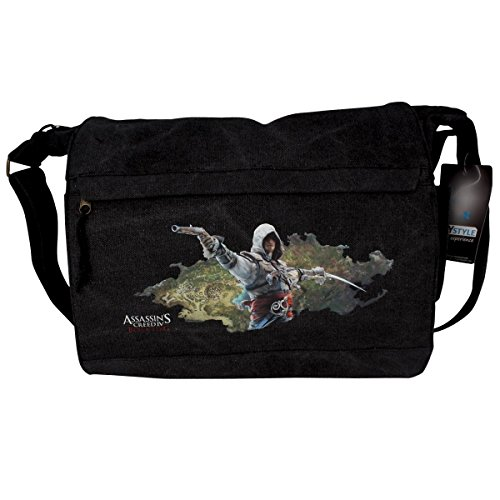 Abystyle 'assassin' S Creed – edward Ile De Nassau Large Messenger Bag