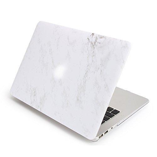 MacBook Air 13caso, patrón de mármol dowswin Cover con carcasa de plástico para Macbook Air 33cm Laptop, blanco (White...