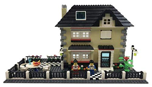 Happy Town Toys Creation-Villa Country House Building Blocks Building Bricks Toy Set from Happy Town Toys