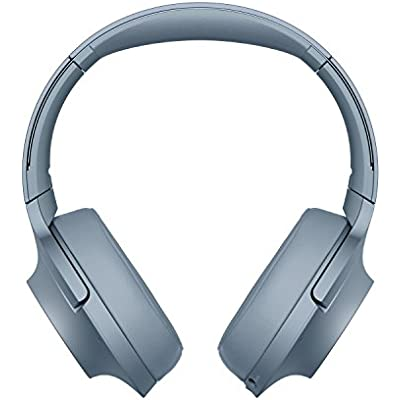 Sony WH-H900 h ear Series Wireless Over-Ear Noise Cancelling High Resolution Headphones with Gesture control  Hours Battery Life Blue