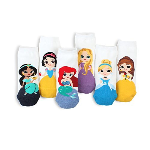 Disney Princess Fairy Tale Low cut Socks (6Pairs BN)