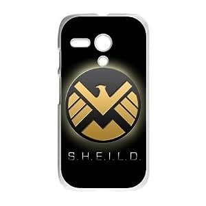 Motorola G phone cases White S.H.I.E.L.D fashion cell phone cases YRTE0203719