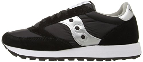 Saucony Jazz Low black Original top Women''s Multicolor silver Sneakers CCFPrOxn