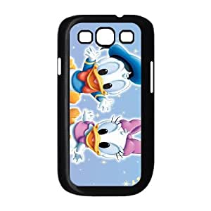 Samsung Galaxy S3 9300 Cell Phone Case Black Donald Duck DNE Clear Phone Cases Unique
