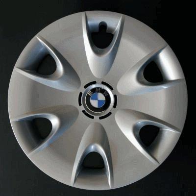 Original BMW Cilindro de apertura Tapacubos Tapacubos para el BMW 1er E81 E82 E87 E88 –
