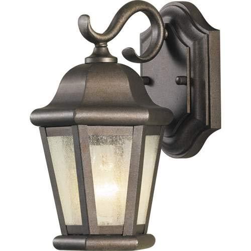 Feiss Martinsville Corinthian Bronze 1-Light Outdoor Wall-Mounted Lantern - Outdoor Martinsville Lantern