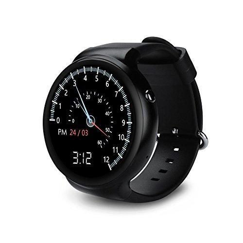 1 Gb Mp3 Watch - Walmeck Smart Watch BT Sport GPS 3G/2G Watch Phone Heart Rate MTK6580 1.3GHz 1GB RAM+16GB ROM Android 5.1 Call Notification Pedometer Alarm Metal Frame MP3 MP4 WiFi